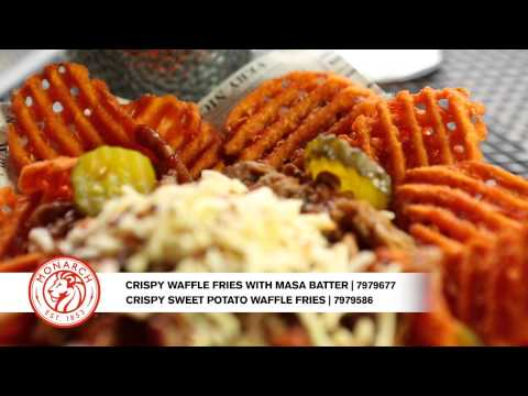 Monarch Cripsy Waffle Fries