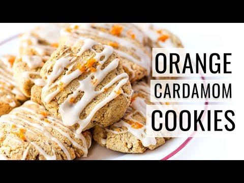 ORANGE CARDAMOM SUGAR COOKIES   collab with Vegetarian Baker   #COOKIEWEEK