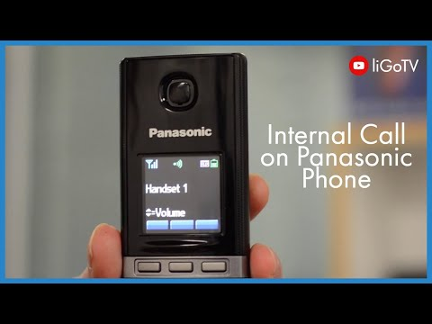 How To Make An Internal Call (Panasonic)