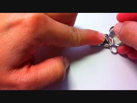 Assembling or fixing  a  metal suspender clip  ( Dummy clips- binkies)