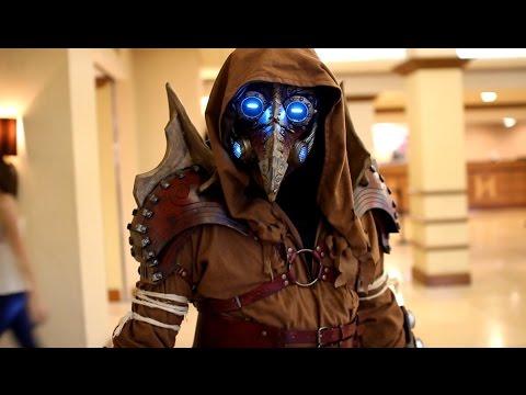 Original design Arcane Steampunk plague doctor costume