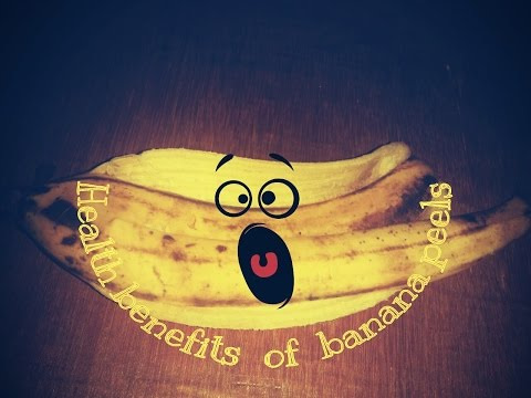 Health Benefits of Banana Peels!