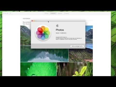 Mac Photos App - iCloud Photo Sharing