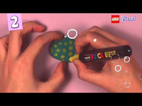 Make display stones your LEGO Friends Animals - LEGO Friends - How To