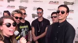 Hales with Young Guns - APMAs 2016