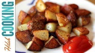How To Make Home Fries Extra Crispy Home Fries Recipe Hilah Cooking E