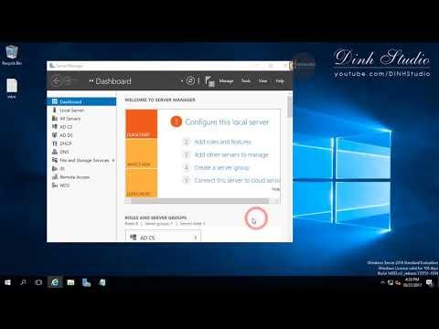 How to install RADIUS Server on Windows Server 2016