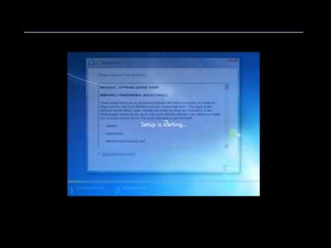 How to upgrade 32bit to 64 bit for windows 7