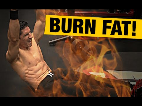 Fat Burning Ab Workout (HOME VERSION!!)
