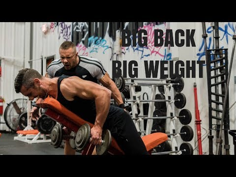 BIG BACK AND BIG WEIGHT with Travis S