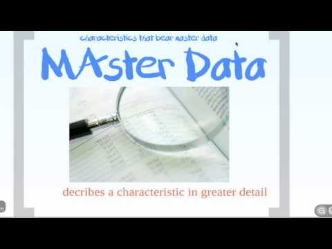 SAP BI   Master Data