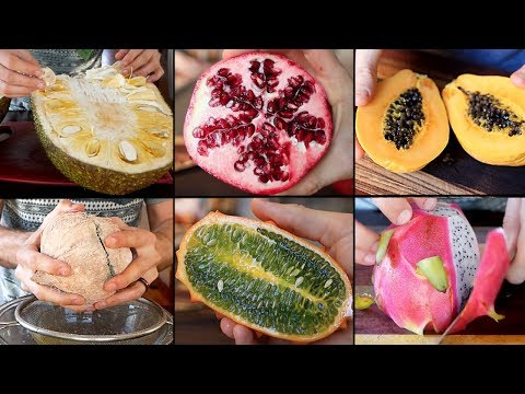 How To Properly Cut Exotic Fruits