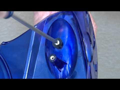Pressure cleaner replacing head