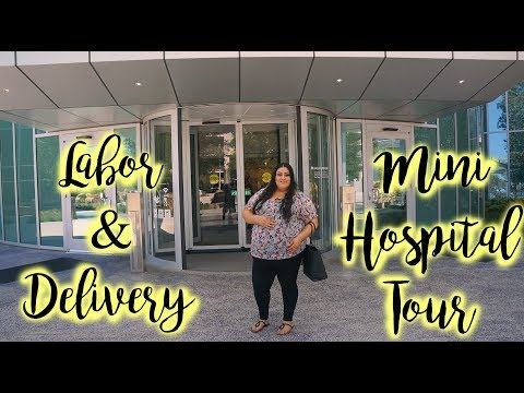 Our 1st official vlog (Kaiser Permanente Labor & Delivery New Hospital Tour)