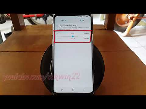 Samsung Galaxy S9 : How to Change Screen resolution (Android Oreo)