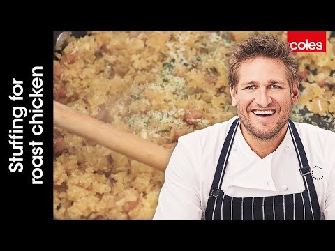 How to make stuffing for roast chicken with Curtis Stone