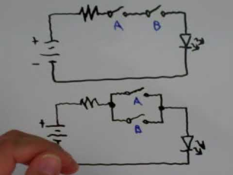 Using Switches As Logic Gates