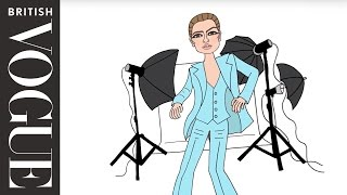 Vogue 100: David Bowie, Kate Moss & the Turquoise Suit   The Real Stories of Vogue   British Vogue