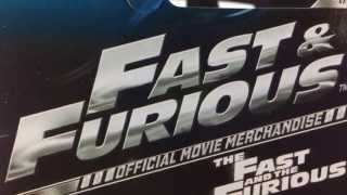 Hot Wheels Wal Mart Exclusive Fast and Furious Official Movie Merchandise Cars!!!