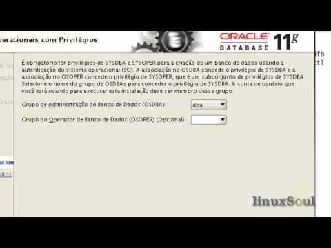 Instalação do Oracle Database 11gR2 Patchset 1