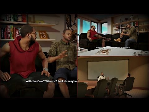 NBA 2K14 Next Gen MyCAREER - The Personality Test and Pre Draft Interviews! PS4