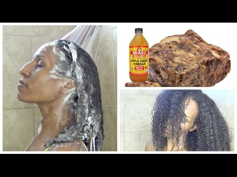 How To: Clarify Natural Hair | African Black Soap | Scalp Detox