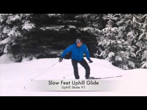 Skate Skiing Uphill: 2 Quick Drills - Quick Hops & Long Glides