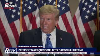 """""""PELOSI HAS MENTAL PROBLEMS"""" President Trump DOESN'T HOLD BACK   MUST WATCH NEWS CONFERENCE"""