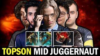 MID Juggernaut is Back? TOPSON Madness Meta vs SUMAIL GORGC Dota 2