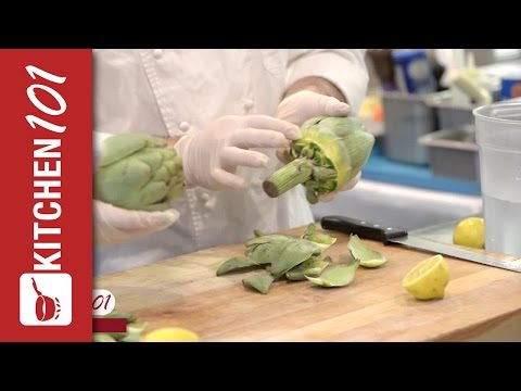 How to Clean an Artichoke | Kitchen 101