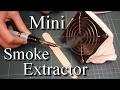DIY Simplest mini USB Smoke Extractor / Air purifier!!!