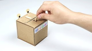 How to Make Useless BOX from Cardboard
