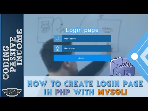 PHP Tutorial: How To Create Login Page in PHP With MySQLi