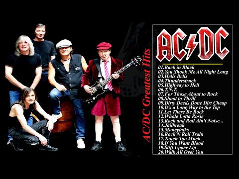 AC/DC Greatest Hits Full Album Live 2017