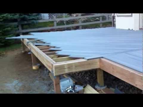 Building a composite deck Denver Deck Builder
