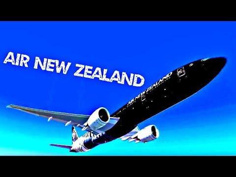 FSX | Tahiti - Auckland ✈ B77W Air New Zealand