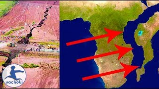 Africa is Splitting in Two at The Rift Valley to Form a New Continent