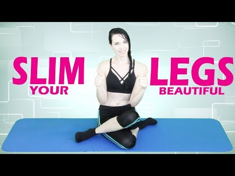 How to get Slim and Toned Legs Fast | Fitness Eat Right Fit Right
