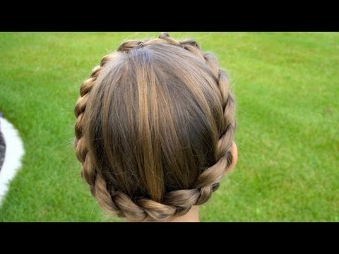 Braided Crown | CuteGirlsHairstyles | Disney Style