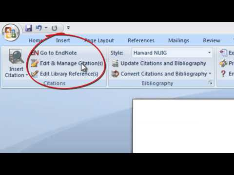 EndNote: deleting references when using Cite While You Write in Endnote