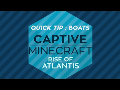 Captive Minecraft III : Quick Tip : Breaking Boats