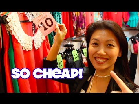 It's Cheaper to Shop at Bugis Street!