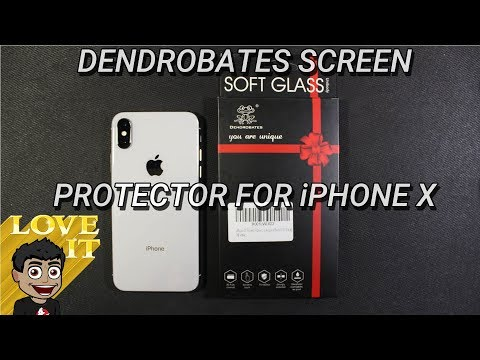 iPhone X Dendrobates Soft Glass Screen Protector