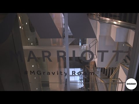 Inside The Marriott Hotel Gravity Room l Digiday