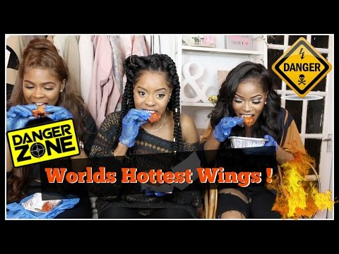 WORLD HOTTEST WINGS CHALLENGE (GONE WRONG)