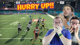 TERRIBLE GOLD TEAM vs OVER POWERED SQUADS!! *CAN WE SOMEHOW WIN? - Madden 18 Squad Up ep.1