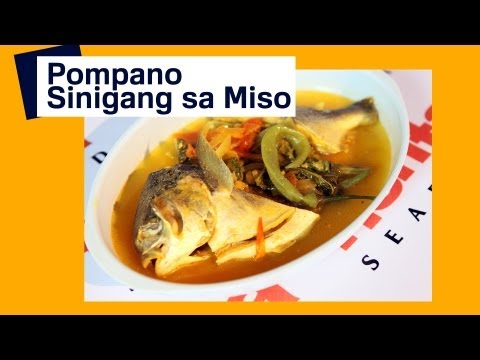 Pompano - Fish: Sinigang sa Miso – Pompano Fish | Pinoy How To