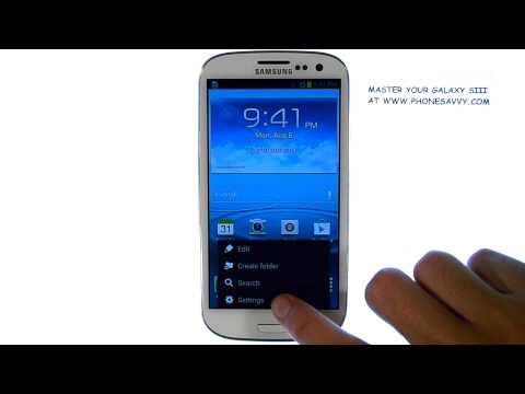 Samsung Galaxy SIII - How do I turn on Sound and Vibration
