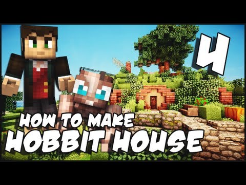 Minecraft: How To Make a Hobbit House - Part 4 + Download