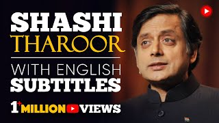 LEARN ENGLISH | SHASHI THAROOR - Britain owes reparations to India (English Subtitles)